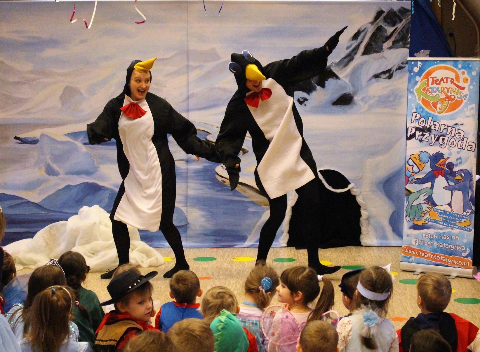 """""""Polarna przygoda"""" Spotkanie z teatrem dla dzieci."""